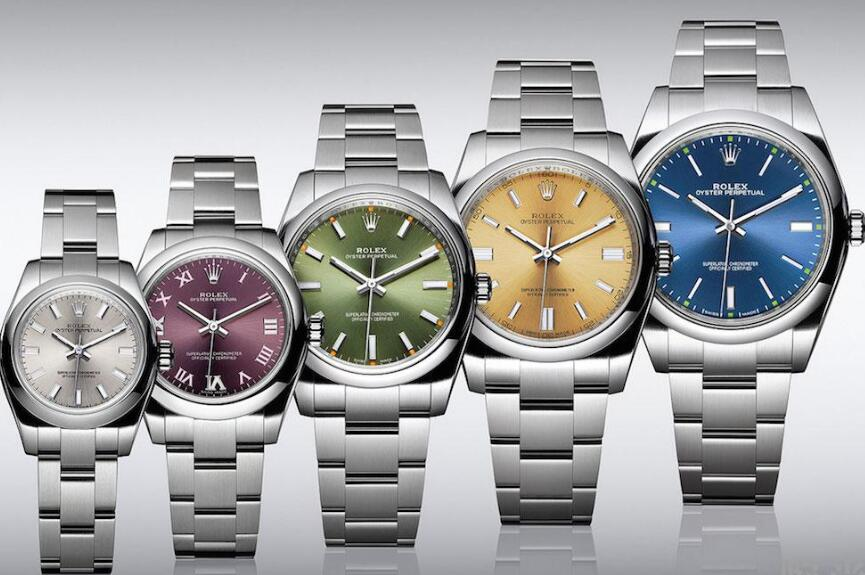 All these Oyster Perpetual watches are cheap but with classic appearance.
