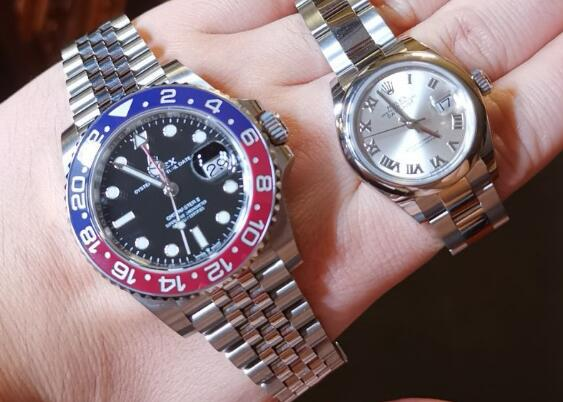 These two watches are both with high performance and top quality.