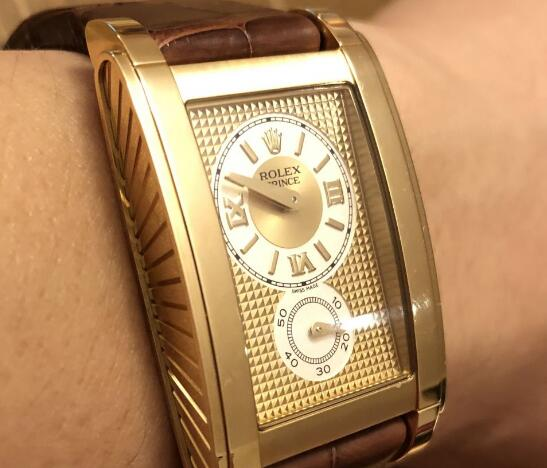 The Rolex Cellini Prince is rarely seen in the market.