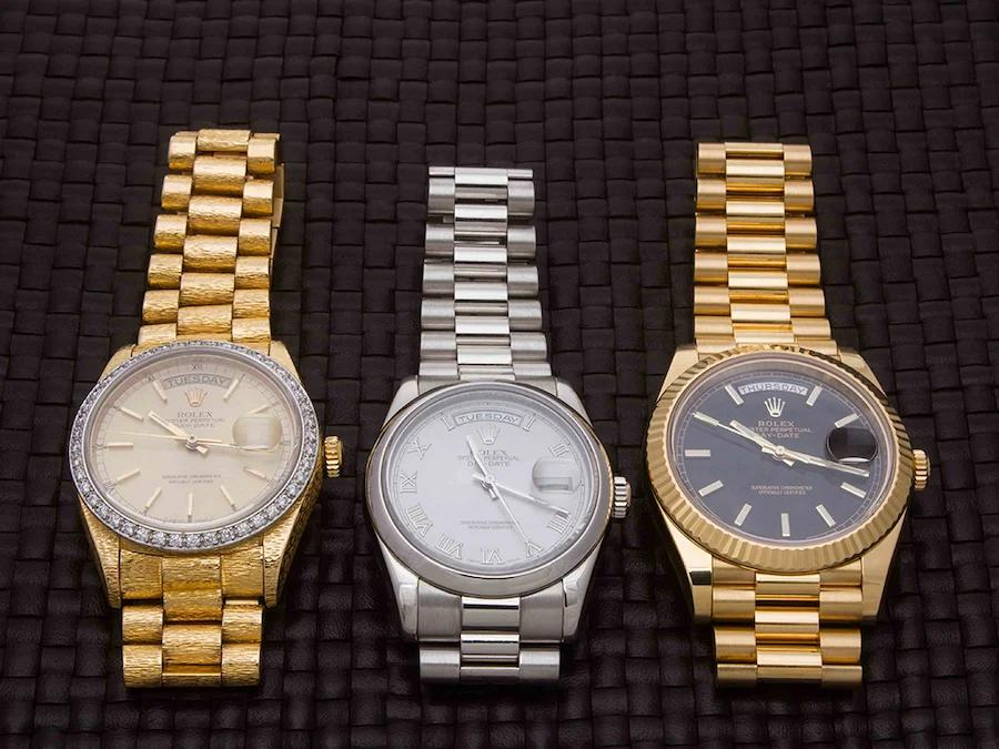 Precious Rolex Day-Date replica watches are chosen by many famous celebrities.
